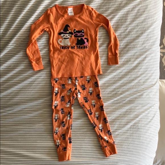 gymboree halloween pajamas set